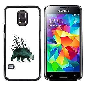 Stuss Case / Funda Carcasa protectora - Tenga Forrest - arte abstracto - Samsung Galaxy S5 Mini, SM-G800