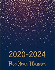 2020-2024 Five Year Planner: Five Years 60 Months Calendar Monthly Planner Schedule Organizer For To Do List Academic Schedule Agenda Logbook Or Student Teacher Organizer Journal Notebook Business Appointment W/ Holidays
