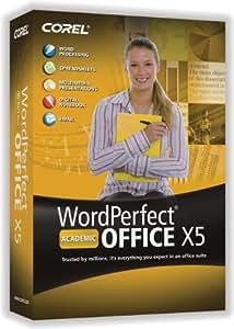 WordPerfect Office X5 EN/FR DVD Academic (bilingual software)