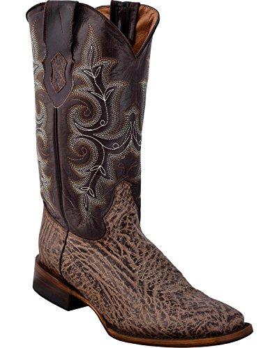 Ferrini Mens Acero Cowboy Boot Fyrkantig Tå - Från 12.093 Till 10 Brun