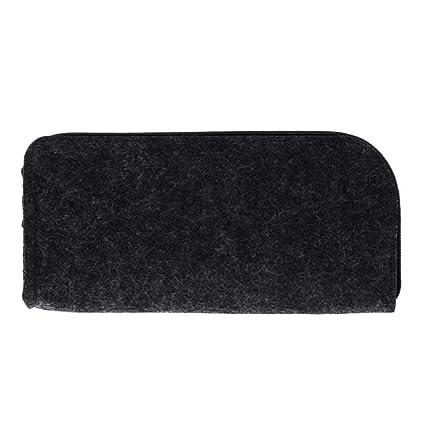 UHSKK Estuche Square Felt Makeup Cosmetic Bag Brush Pen ...