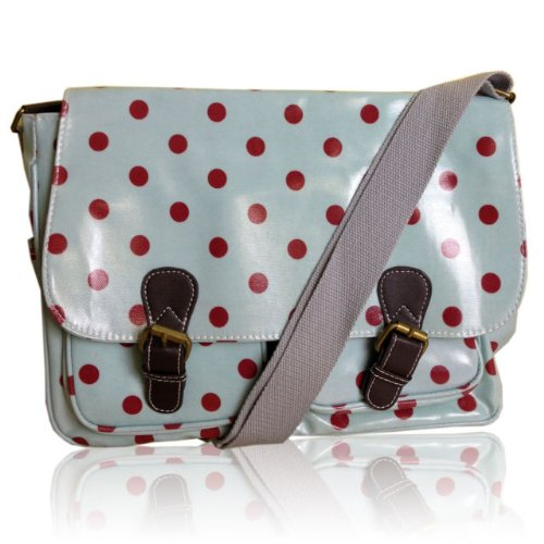 Cartera Ltd Avashion Dot Blue Para Mujer Light Polka Bolso Estilo wtAndqraA
