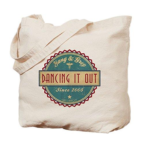 CafePress–Dancing it out desde 2005–Gamuza de bolsa de lona bolsa, bolsa de la compra Small caqui