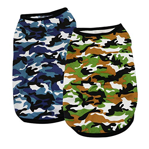YAODHAOD Clothes Chihuahua Camouflage T Shirt product image