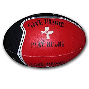 Give Blood Rugby Ball