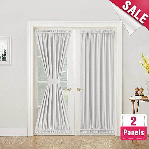 Compare Price To Grey Curtains For French Doors Tragerlawz