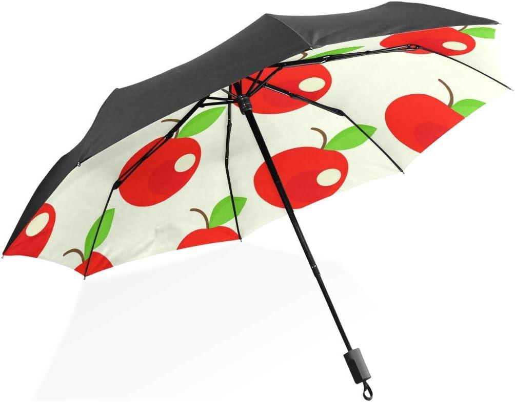 Black Glue Anti UV Coating ANINILY Logo Of The Anchor Folding Umbrella Windproof Compact Travel Umbrella For Women Men