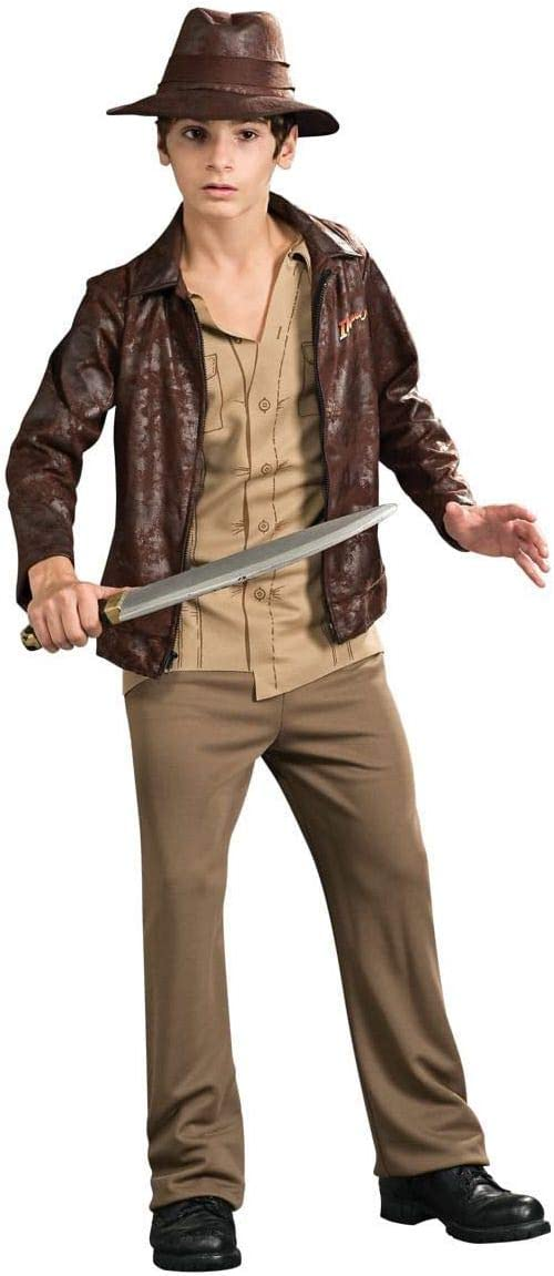 Rubies Costume Indiana Jones and The Kingdom of The Crystal Skull Deluxe Indiana Costume Tween Size