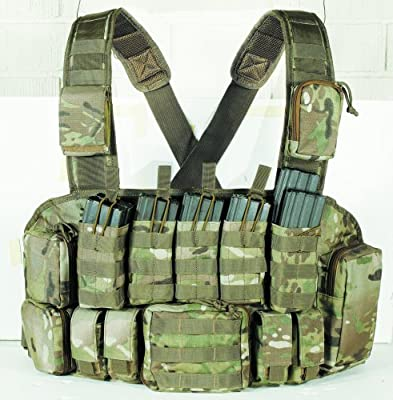 VooDoo Tactical 20-9931082000 Chest Rig, Multicam