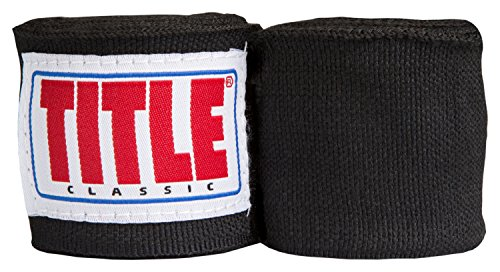 Title Boxing TITLE Classic Advanced Hand Wraps, Black, ()