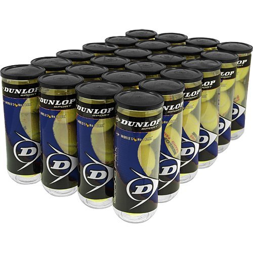 Dunlop Grand Prix Hard Court 24 Cans: Dunlop Tennis Balls