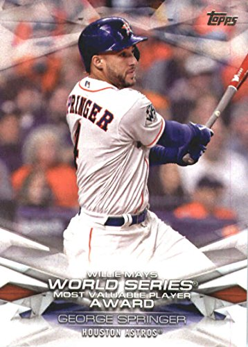 Amazoncom 2018 Topps Mlb Awards Mlba 50 George Springer