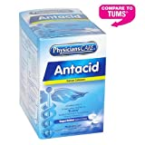 PhysiciansCare Antacid Heartburn Medication (Compare to Tums), 50 Doses of Two Tablets, 420 mg