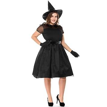 Disfraz de Bruja de Gasa Negra, Temperamento, Bruja, Fantasma ...