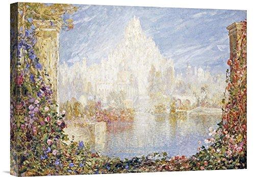 Global Gallery Budget GCS-265294-22-142 Tom Mostyn Fairyland Castle Gallery Wrap Giclee on Canvas Print Wall Art