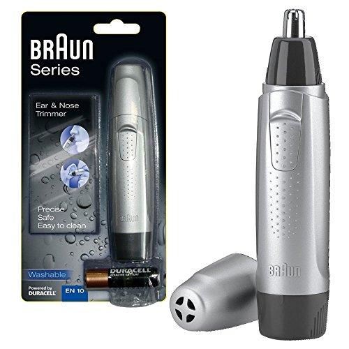 (Braun EN10 Wet and Dry Ear/Nose Hair Trimmer)