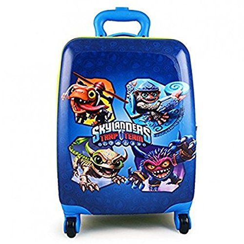 Rick Steves Convertible Carry On (Skylanders Trap Team Brand New Exclusive Designed Kids Luggage Case)