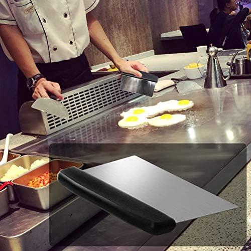 Delaspe Ensemble D'outils de Barbecue 7 Pièces Ensemble D'accessoires pour Barbecue en Acier Inoxydable Kit de Barbecue Professionnel Adapté pour Le Camping Le Barbecue