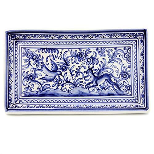 Madeira House Coimbra Ceramics Hand-Painted Decorative Tray XVII Century Replica #223