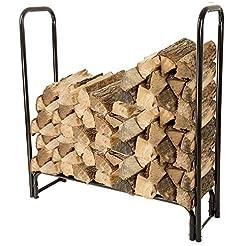 Pure Garden 50-124 Firewood Log Rack, 4'...