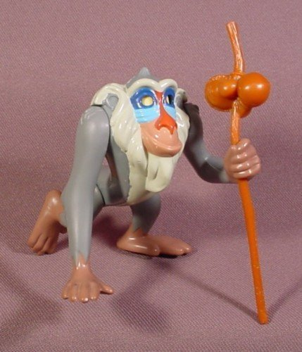 Disney Lion King RAFIKI Figurine Burger King Kids Meal Toy 1994