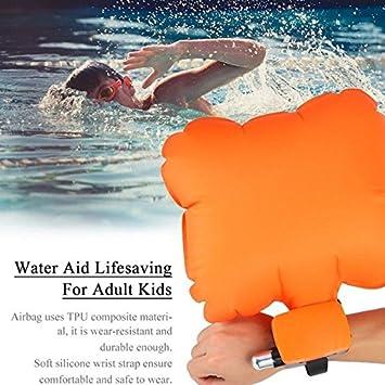 Pulsera hinchable de seguridad para el agua, para la vida útil ...