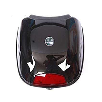 Motorcycle Box Luggage 28L Top Tail Rear Storage Blue