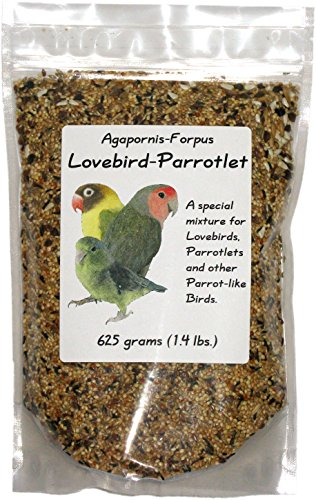 Penn Seed Lovebird-Parrotlet, 625 g (1.4 lbs) Zip Bag
