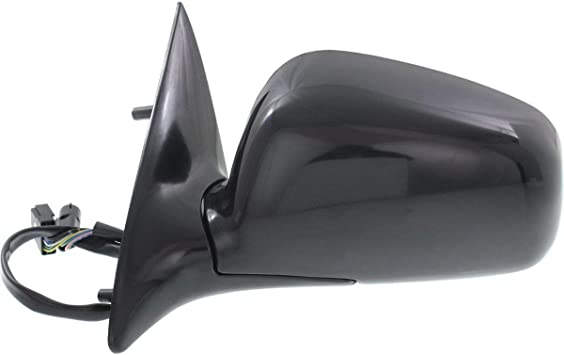 NEW LEFT SIDE POWER MIRROR BLACK FITS 2004-2008 LINCOLN TOWN CAR FO1320323