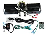 Hongso GFK-160 GFK-160A GFK160 Replacement Fireplace Blower KIT, for Heat N Glow GFK-160A; Regency Wood Stove Insert 846515; Royal GFK-160; Jakel; Rotom # R7-RB168