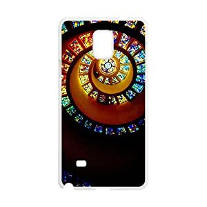 Exquisite stylish phone protection shell Samsung Galaxy Note 4 Cell phone case for disney Stained glass pattern personality design