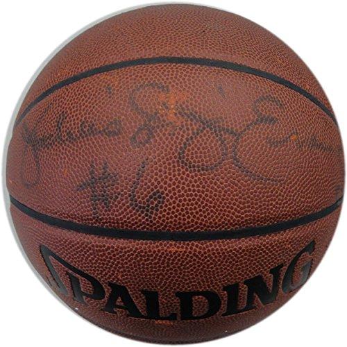 Erving Hand Signed - Julius Dr J Erving Hand Signed Autographed Spalding Full Size Basketball JSA HOF