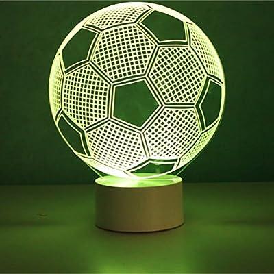 Optical Illusion 3d Football Lamp Fussball Lampe Amazon De