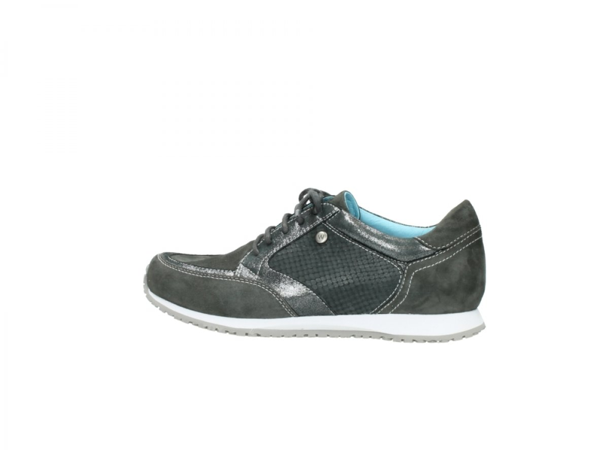 Wolky Comfort Sneakers Ewood B00NLVYXBW 36 M EU|40210 Anthracite Leather