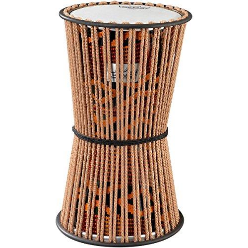 Remo Talking Drum - Fabric African Stripe, 8