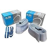 Foss Explosion-Proof Inner Tubes - 26 x 1.95-2.25, Presta Valve (2 Pack)