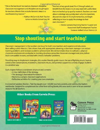 Shouting Won't Grow Dendrites: 20 Techniques for Managing a