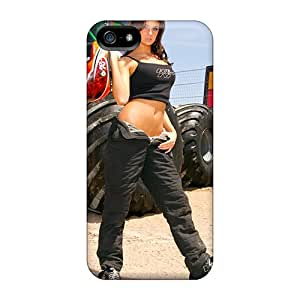 Bangongphone99 Snap On Hard Cases Covers Monster Truck Beauty Protector For Iphone 5/5s