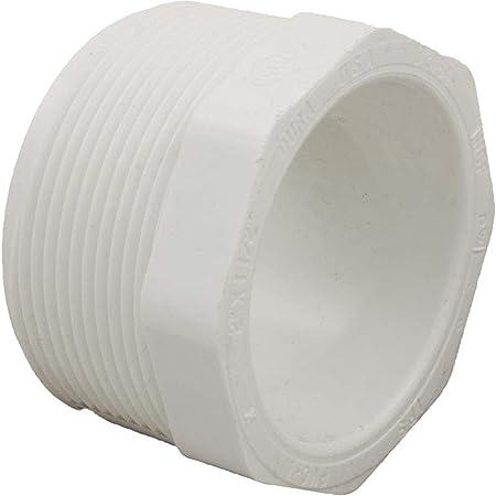 Dura Schedule 40 PVC Male Adapter 1-1//2 Slip x 1-1//2 Thread
