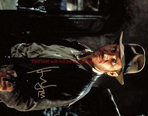 Indiana Jones and the Raiders of the Lost Ark Harrison Ford Autographed 8x10 Glossy Photo