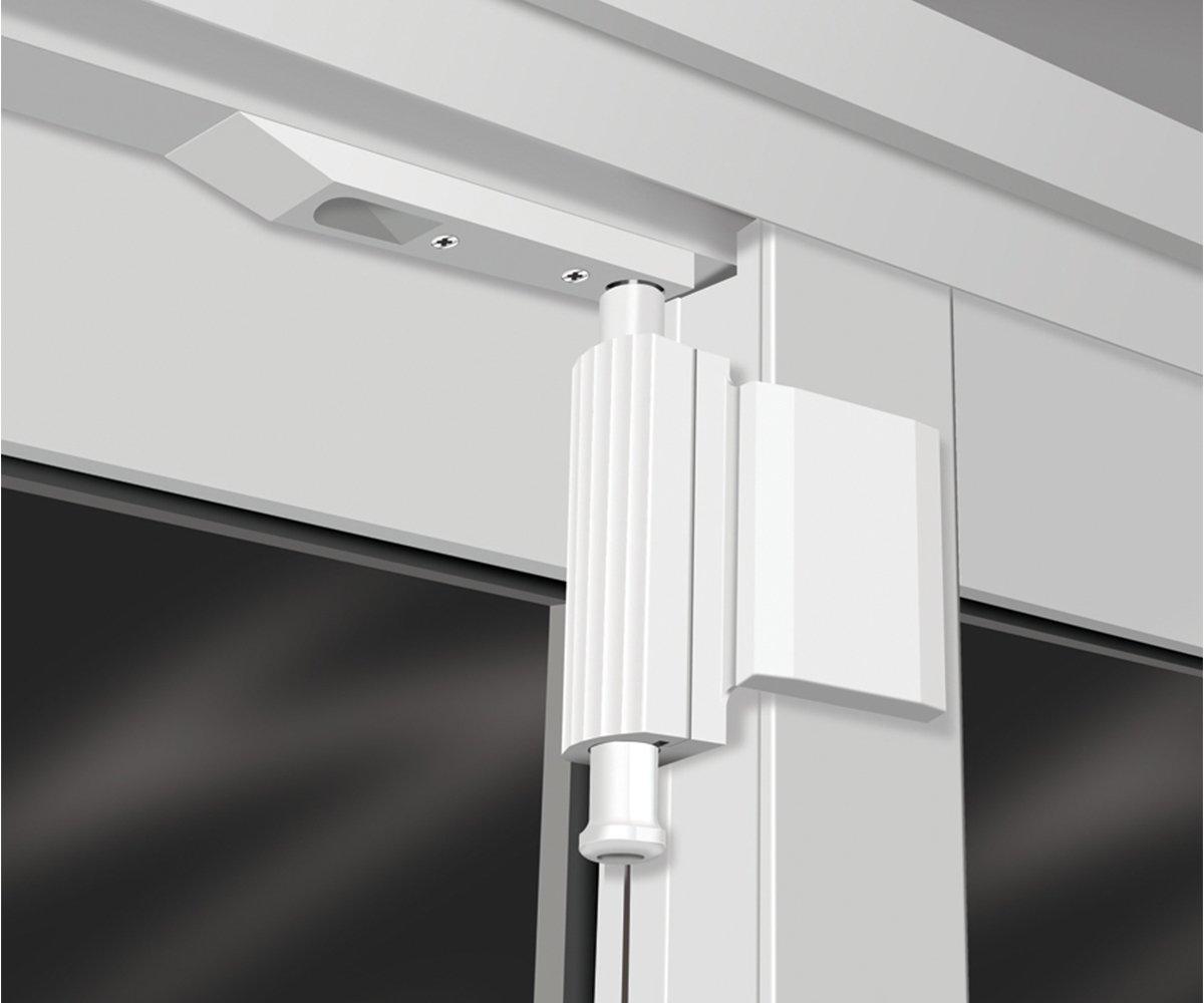 Patio Guardian Pdg01 W Patio Door Guardian Lock White Door