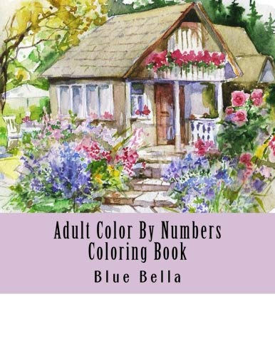(Adult Color By Numbers Coloring Book: Easy Large Print Mega Jumbo Coloring Book of Floral, Flowers, Gardens, Landscapes, Animals, Butterflies and More ... Relief (Adult Coloring By Numbers Books))