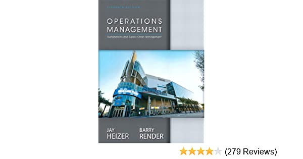 Amazon operations management sustainability and supply chain amazon operations management sustainability and supply chain management ebook jay heizer barry render kindle store fandeluxe Image collections