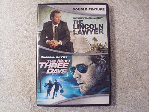The Lincoln Lawyer / The Next Three Days Double Feature