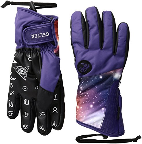 Celtek Women's Maya Gloves, Small, Cosmos