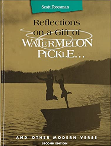 Amazoncom Reflections On A Gift Of Watermelon Pickle And Other