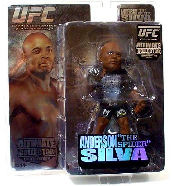 UFC Round 5 Anderson Silva ULTIMATE DA COLLEZIONE SERIE 3 figura mondo delle MMA