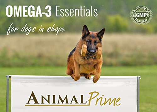 Animal prime omega 3 for dogs fish oil capsules supporting for Fish oil for dog allergies