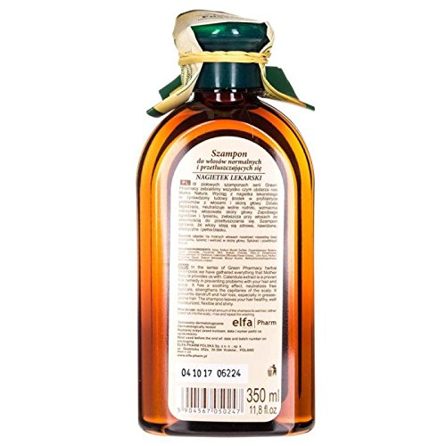 CHAMPU CABELLO NORMAL/GRASO (CALENDULA) GREEN PHARMACY 350 ML: Amazon.es: Belleza