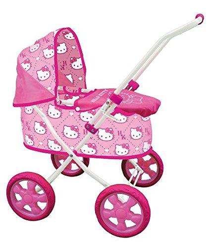 Hello Kitty - Cochecito clásico para muñecas (Saica Toys 9307)